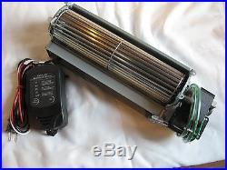 Regency Fireplace Blower P33, P36, P48 Fan Replacement Kit Quiet