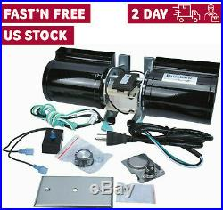 Replacement Fireplace Blower Fan Kit For Lennox Superior Rotom -Durablow GFK-160