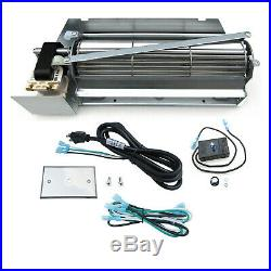 Replacement Gas Fireplace Blower Fan Kit FBK-200 for Lennox Superior Rotom