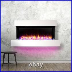 Runswick Wall Mounted Electric Fireplace
