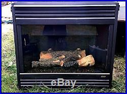 Sale Lennox 40 Gas Fireplace Direct Vent Model Dr4035cnm 2