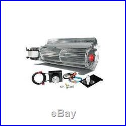 Skytech GFK-4 Temperature Controlled 165 CFM Fireplace Blower Fan Kit with Speed