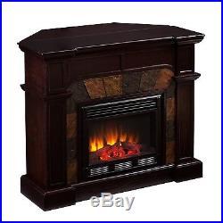 Southern Enterprises Cartwright Convertible Electric Fireplace, Espresso FE9287