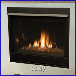 Superior DRC3540 Gas Fireplace NG DRC3540DEN-B 24,000 BTUs 6 Speed Blower