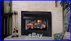 Superior Vent Free Fireplace Insert, Millivolt Remote Ready 33,000 btu's LP