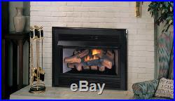 Superior Vent Free Gas Fireplace Insert Surround, Remote & Blower Included