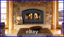 Superior WCT6940 EPA Cert Wood Burning Fireplace Blower, Black Doors & Facade