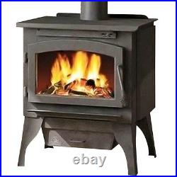 Timberwolf 2200 EPA Certified Wood Burning Stove with Cast Door & Pedestal Kit