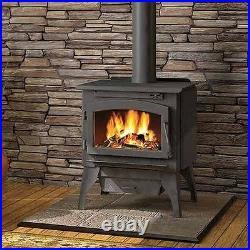 Timberwolf 2200 EPA Certified Wood Burning Stove with Pedestal & Ash Pan Kit