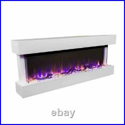 Touchstone 80033 Chesmont 50 Wall Mounted Electric Fireplace White