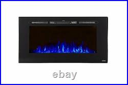 Touchstone Sideline 40 Recessed Electric Fireplace
