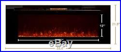 Touchstone Sideline Recessed Mounted Electric Fireplaces (50 Inches) 50 Inches