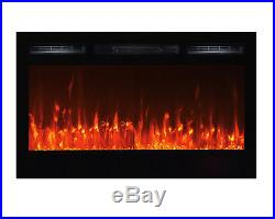 Touchstone Sideline Wall Mounted Electric Fireplace