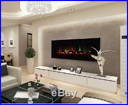 Touchstone ValueLine 10-Color Recessed Electric Fireplace 60 wide 80018