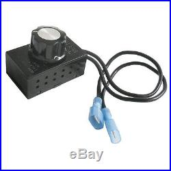 Universal Blower Fan Kit (Motor at right) for Stove or Fireplace only