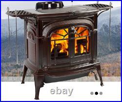 Vermont Castings Intrepid FlexBurn Wood Burning Stove Biscuit Enamel 37000BTU/H