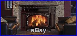 Vermont Castings Montpelier Majolica Brown Non-Catalytic Wood Burning Insert
