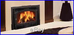 Vermont Castings Montpelier Wood Burning Insert Classic Black Traditional USA