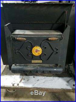 Vintage Earth Stove Wood Burning Stove fire place insert summitville indiana