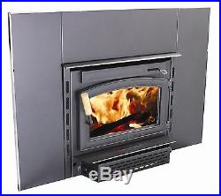 Vogelzang Colonial Wall Mount Wood Burning Fireplace Insert