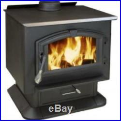 Wood Stove With Blower, Mobile Home Approved, Epa Certified In Washington State