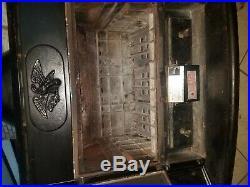 Wood burning fireplace stove