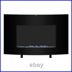 Zokop 1400W 35 Electric Warm Fireplace Wall Mounted Freestand Heater Flame 2020